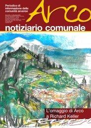 Notiziario comunale n. 2 dicembre 2012 - Comune di Arco
