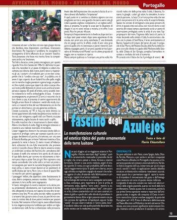Portogallo. Il fascino degli Azulejos - Viaggi Avventure nel mondo
