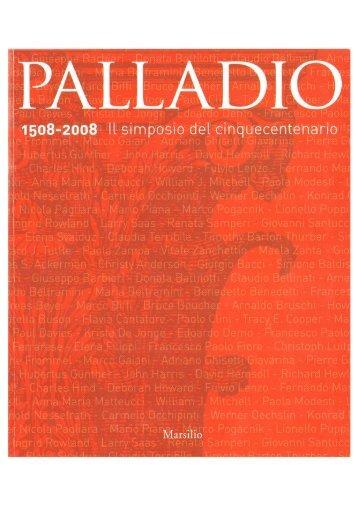 2008_Il motivo dell'architrave tripartito - Università IUAV di Venezia