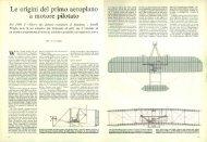 Le origini del primo aeroplano a motore pilotato - Kataweb