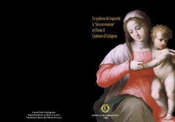 """la """"Sacra conversazione"""" nel Duomo di Castelnuovo di Garfagnana"""