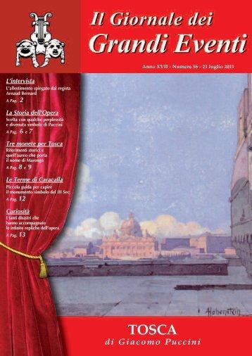 tosca 2011 - Il giornale dei Grandi Eventi