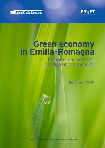 Green Economy in Emilia-Romagna - Rapporto 2012 - Statistica ...