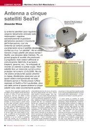 Antenna a cinque satelliti SeaTel - TELE-satellite International ...