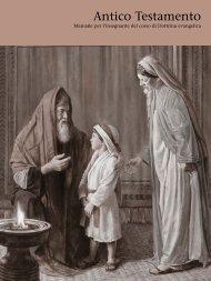 Antico Testamento: manuale per l'insegnante del corso di Dottrina ...