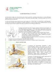 1 LE DISTORSIONI DELLA CAVIGLIA Le distorsioni di caviglia sono ...