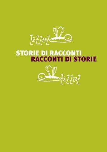 RACCONTI DI STORIE STORIE DI RACCONTI - MARSE Onlus