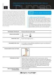 prevenzione delle distorsioni della caviglia - Bodybuilding