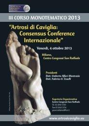 """""""Artrosi di Caviglia: Consensus Conference ... - Timeo Editore"""