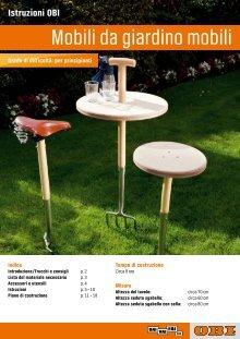 Tavoli Da Giardino In Legno Obi.Obi Ticino Ch Magazines