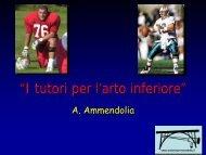 I tutori per l'arto inferiore - Antonio Ammendolia