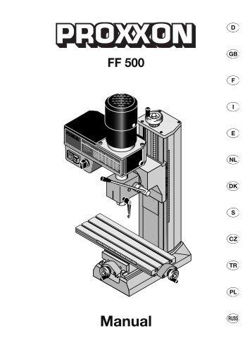 Manual - Axminster Power Tool Centre