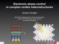 Tuning the electronic properties of oxide heterostructures using ...