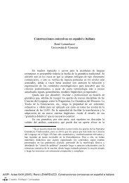 Construcciones concesivas en español e italiano - Centro Virtual ...