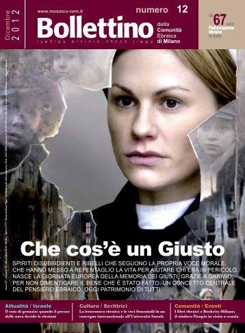 n° 12 - Dicembre 2012 Scarica il PDF - Mosaico