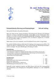 Dr. med. Stefan Herzog - Gemeinschaftspraxis Dr. Vorbeck und Dr ...
