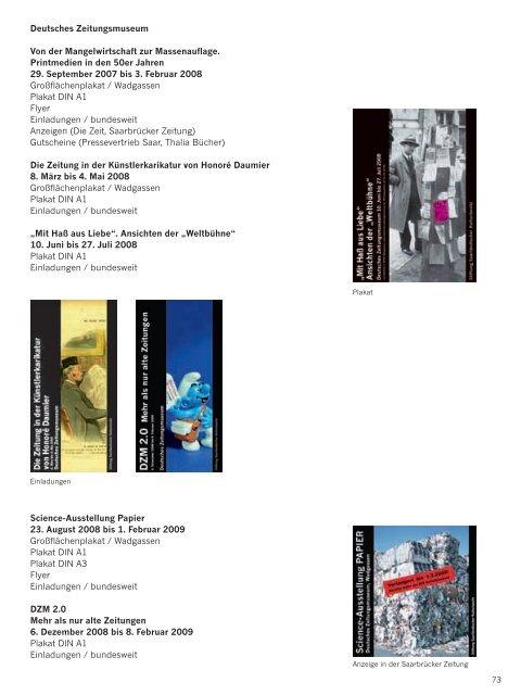 Jahresbericht 2008 - Saarland Museum