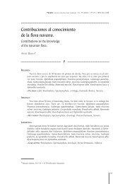 Contribuciones al conocimiento de la flora navarra. - Aranzadi