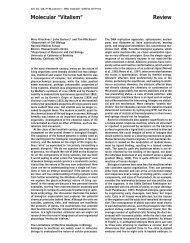 "Molecular ""Vitalism"" Review"