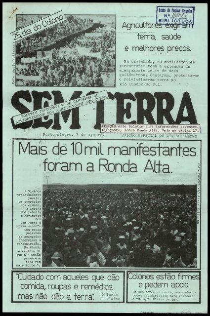 Mais de 10 mil manifestantes foram a Ronda Alta.