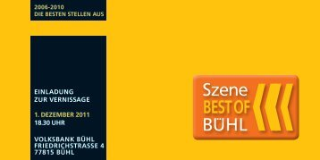 BEST OF - Volksbank Bühl eG