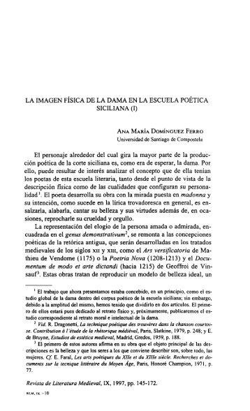 La Imagen Física de la Dama en la Escuela Poética Siciliana (I).pdf