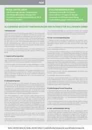 AGB - Hofmeister Holzwaren GmbH