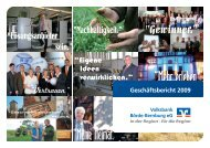 Geschäftsbericht - Volksbank Börde-Bernburg eG