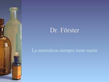 Dr. Förster - Grupo Carpe