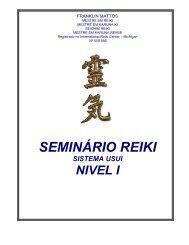 SEMINÁRIO REIKI - Grupo PAS