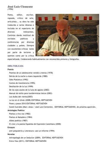 CV de José Luis Clemente - Heptaseven