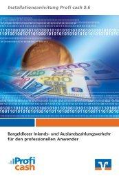 Installationsanleitung Profi cash - Volksbank Daaden eG