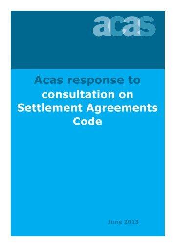 Redundancy Handling Acas