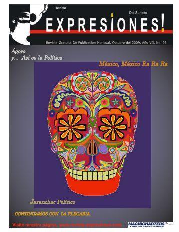 puede descargar la revista Expresiones del mes de Octubre de 2009