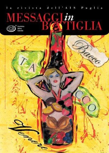 Messaggi in Bottiglia n.9 - Ais Puglia