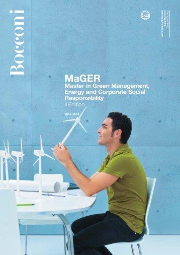 MaGER Brochure - Università Bocconi