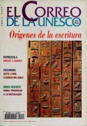 Orígenes de la escritura; The UNESCO courier ... - unesdoc - Unesco