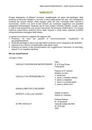 VASCULITI - LESIONI CUTANEE CRONICHE