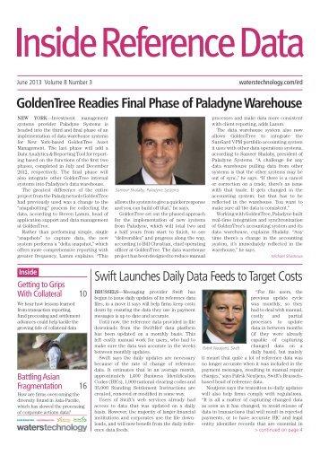 GoldenTree Readies Final Phase of Paladyne Warehouse