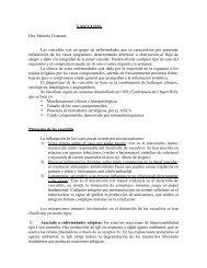 VASCULITIS Dra. Marcela Cisternas Las vasculitis son un grupo de ...