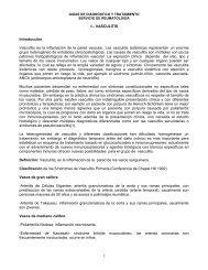 1.- VASCULITIS Introducción Vasculitis es la inflamación de la ...