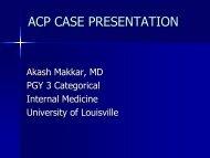 ACP Case Presentation-Vasculitis