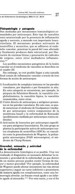 Vasculitis sistémica - edigraphic.com
