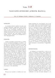 Tema 148 VASCULITIS LIVEDOIDE (ATROFIA ... - e-dermatosis.com