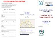 BROCHURE ACCESSI VASCOLARI - Poliambulatorio Salute in ...