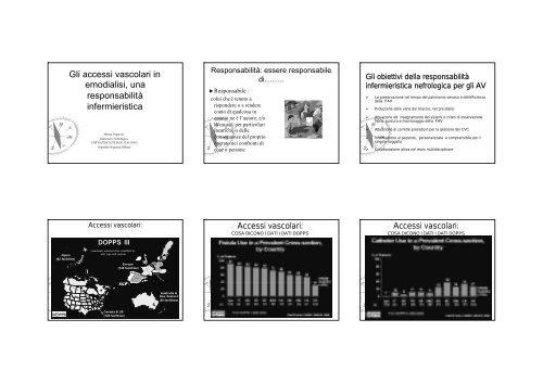 Gli accessi vascolari in emodialisi, una responsabilità infermieristica