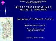 Presentazione Accessi Vascolari 2004 - SIN-RIDT.org