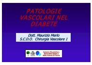 patologie patologie vascolari nel vascolari nel diabete - Educazione ...