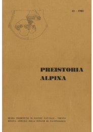 scarica pdf 2257.886KB - Museo Tridentino di Scienze Naturali
