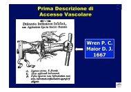 Accessi vascolari in T I